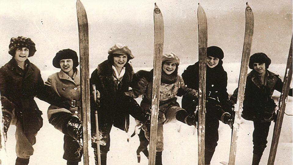 donne sci vintage