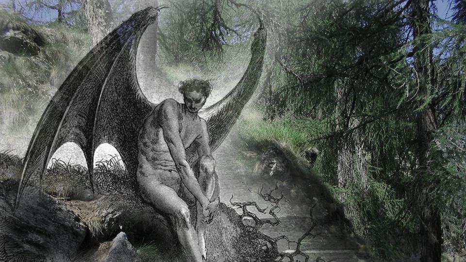 Il diavolo in attesa sul ponte della sorte funivie for Ponte sul davanti della casa