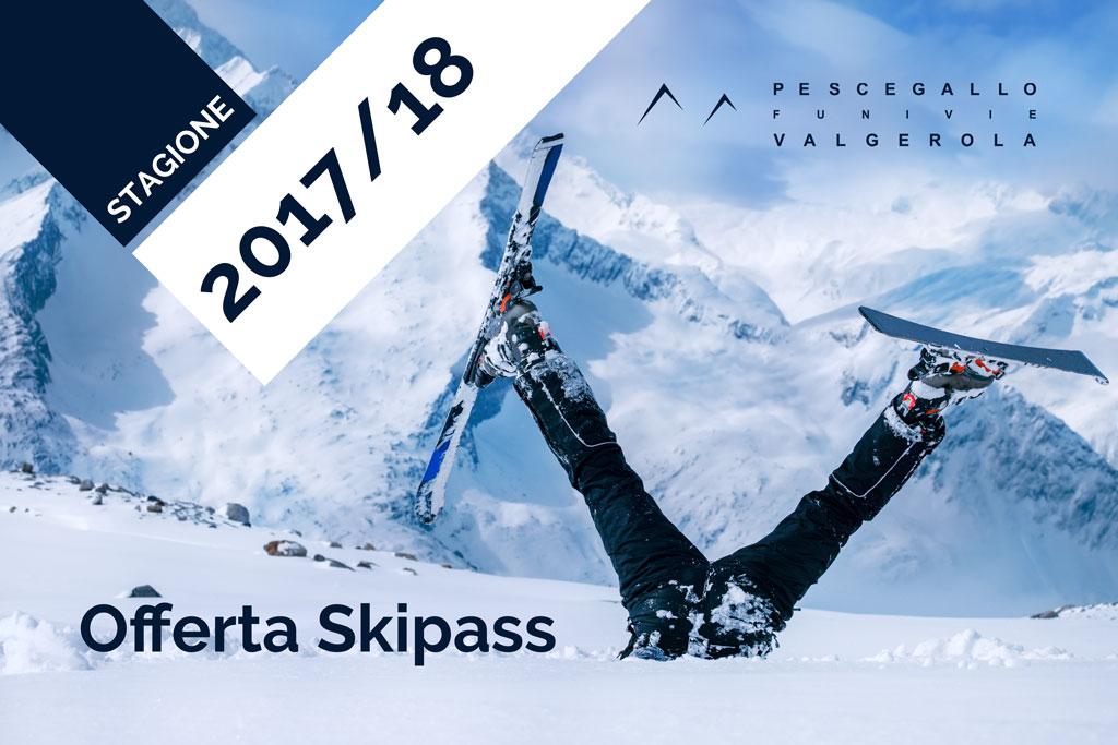 Offerta Skipass Pescegallo FUPES 2017-18
